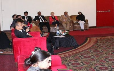 Launching Ceremony of Ending Violence Against Women and Girls (EVAW/G) Alliance, Sindh Chapter