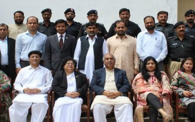 Training workshops were held to build the capacity of juvenile justice institutions to deal with juveniles as per JJSO, 2000