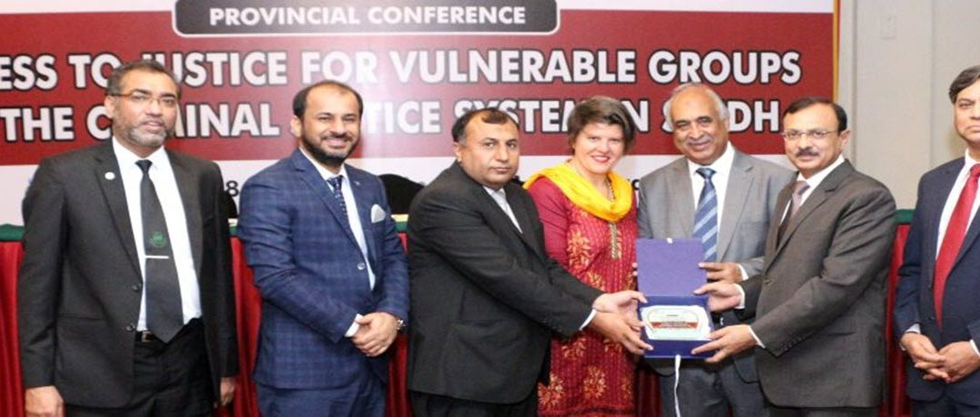 Provincial Conference on Access to Justice for Vulnerable Groups in Criminal Justice System in Sindh