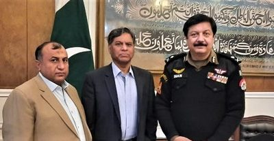 MEETING BETWEEN IG PUNJAB POLICE AND LEGAL RIGHTS FORUM ON SUPPORTING WOMEN TO JOIN POLICE
