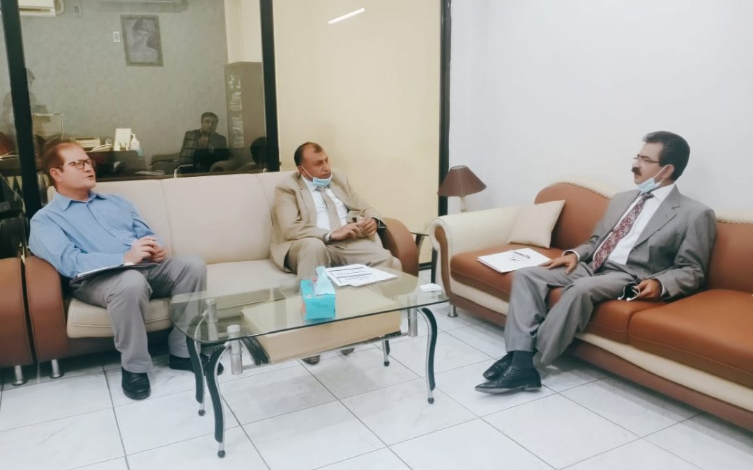 Coordination meeting of LRF and STC with Secretary, Social Welfare Department Government of Sindh