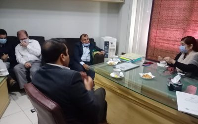 Coordination meetings of LRF and STC with NFE Directorate Government of Sindh.
