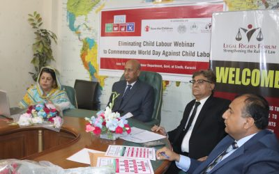 Eliminating Child Labour National Webinar to commemorate International Labour Day 2021
